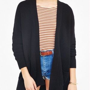 BDG UO Black Knitted Cardigan